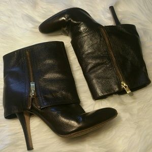 Vince Camuto Quale Brown Leather Heels